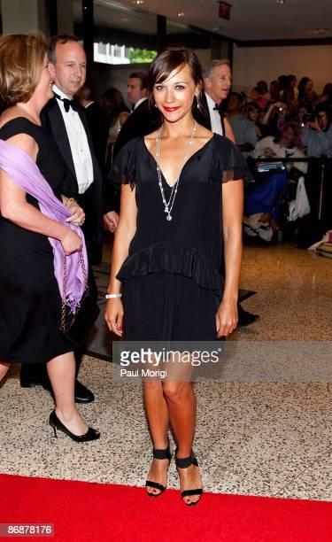 Rashida Jones arrives at the 2009 White House Correspondents' Association Dinner at Washington Hilton on May 9 2009 in Washington DC