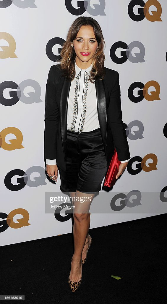Rashida Jones arrives at the GQ Men Of The Year Party at Chateau Marmont Hotel on November 13, 2012 in Los Angeles, California.