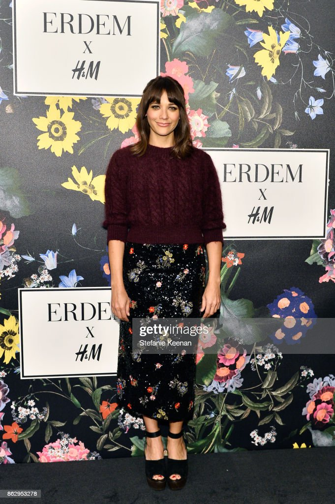 Rashida Jones at H&M x ERDEM Runway Show & Party at The Ebell Club of Los Angeles on October 18, 2017 in Los Angeles, California.