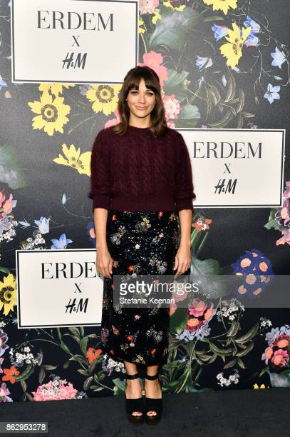 Rashida Jones at HM x ERDEM Runway Show Party at The Ebell Club of Los Angeles on October 18 2017 in Los Angeles California
