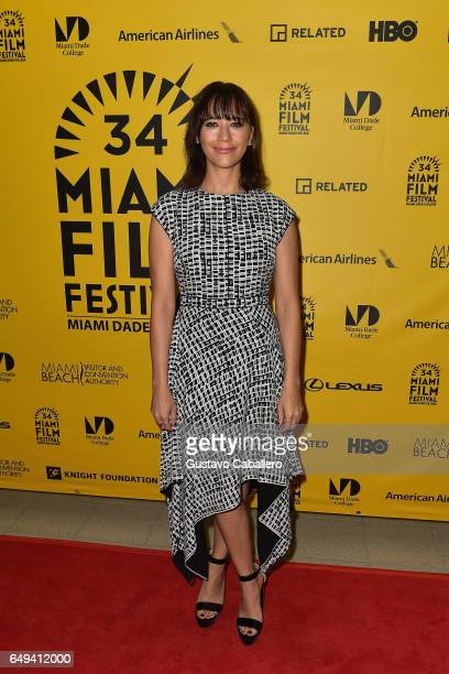 Rashida Jones attends Miami Film Festival on March 7 2017 in Miami Florida