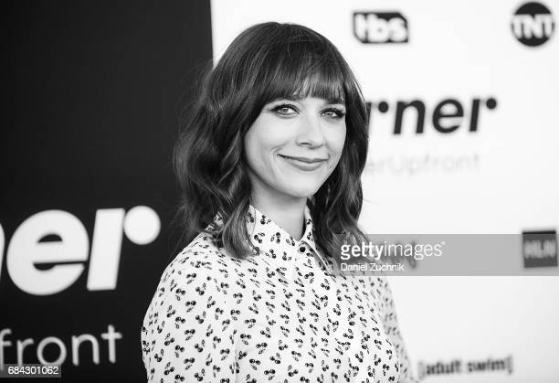 Rashida Jones attends the 2017 Turner Upfront at Madison Square Garden on May 17 2017 in New York City