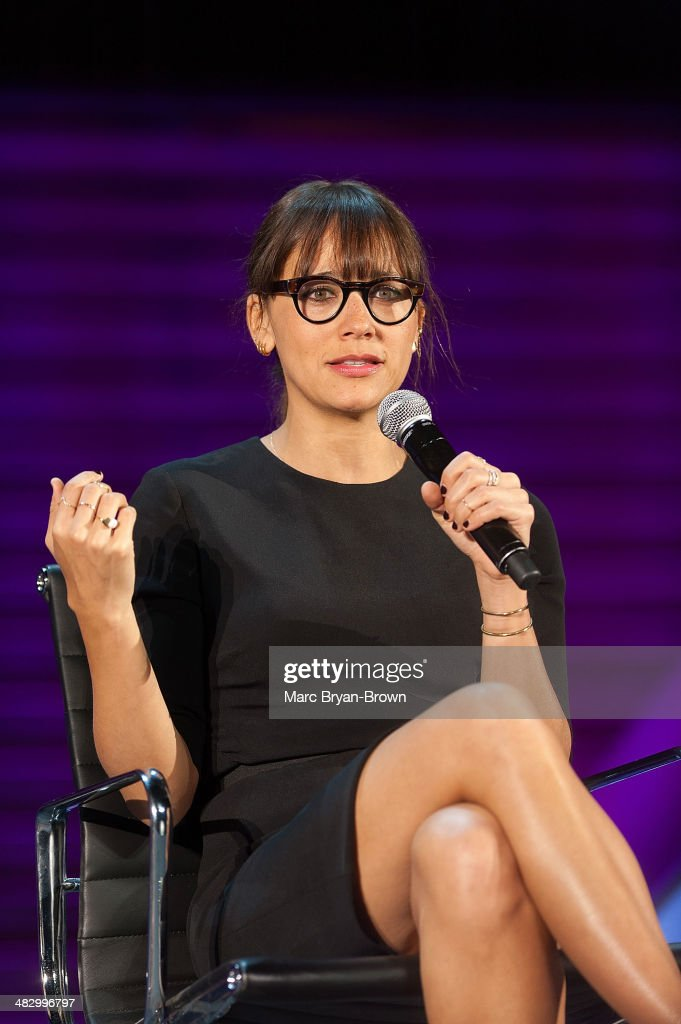 <a gi-track='captionPersonalityLinkClicked' href=/galleries/search?phrase=Rashida+Jones&family=editorial&specificpeople=2133481 ng-click='$event.stopPropagation()'>Rashida Jones</a> attends the 5th Annual Women In The World Summit at David H. Koch Theater, Lincoln Center on April 5, 2014 in New York City.
