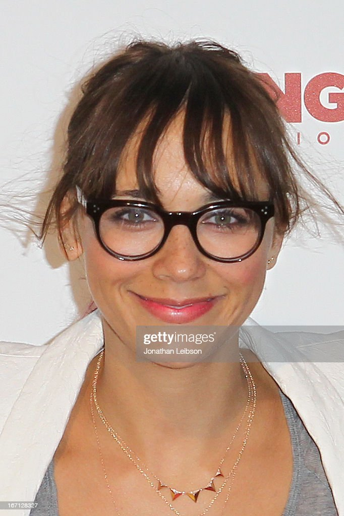 Rashida Jones attends the City Year Los Angeles' Spring Break: Destination Education at Sony Pictures Studios on April 20, 2013 in Culver City, California.