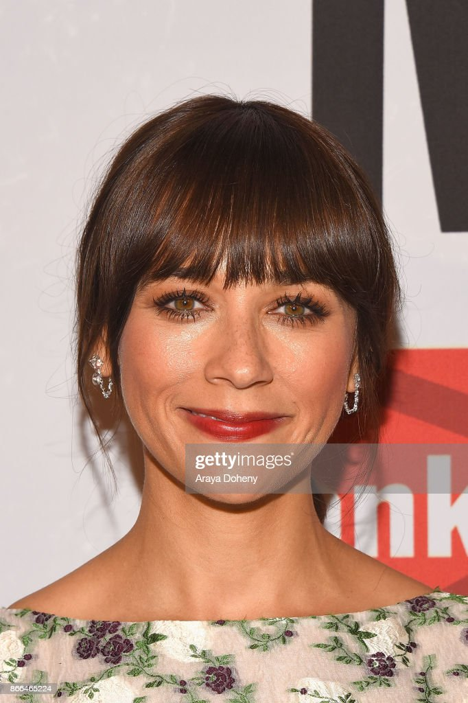Rashida Jones attends the International Women's Media Foundation 2017 Courage in Journalism Awarddss at NeueHouse Hollywood on October 25, 2017 in Los Angeles, California.