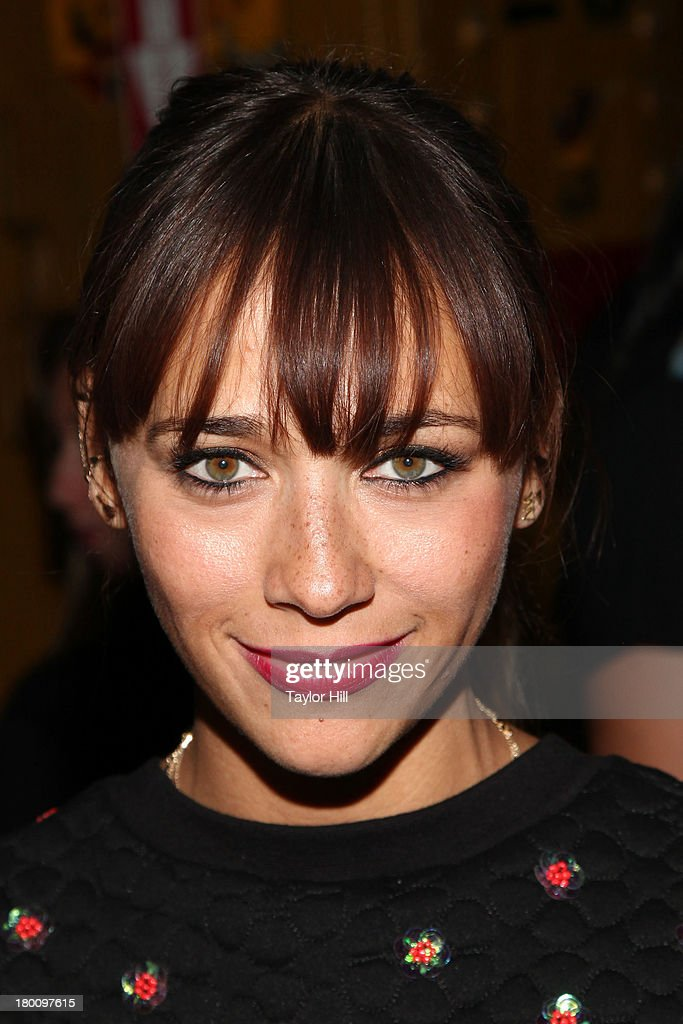 <a gi-track='captionPersonalityLinkClicked' href=/galleries/search?phrase=Rashida+Jones&family=editorial&specificpeople=2133481 ng-click='$event.stopPropagation()'>Rashida Jones</a> attends the Opening Ceremony Spring 2014 fashion show at on September 8, 2013 in New York City.