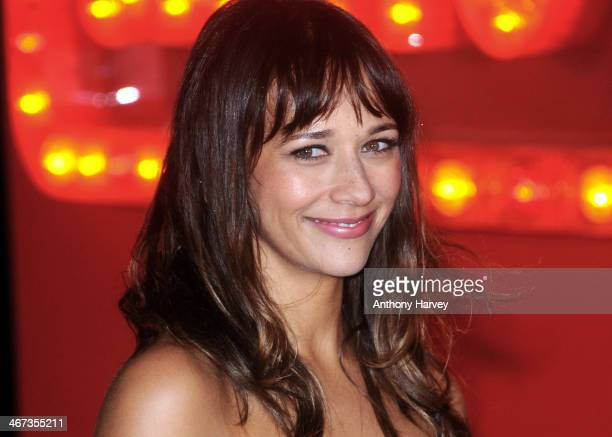 Rashida Jones attends the World Premiere of 'Cuban Fury' at Vue Leicester Square on February 6 2014 in London England