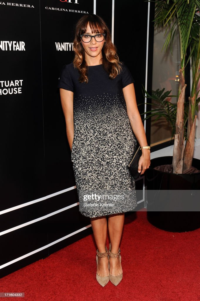 <a gi-track='captionPersonalityLinkClicked' href=/galleries/search?phrase=Rashida+Jones&family=editorial&specificpeople=2133481 ng-click='$event.stopPropagation()'>Rashida Jones</a> attends Vanity Fair and CH Carolina Herrera celebrate the opening of the CH Carolina Herrera Boutique On Rodeo Drive at Carolina Herrera Boutique on June 26, 2013 in Los Angeles, California.