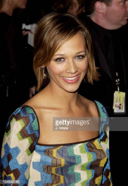 Rashida Jones during 2002 Vanity Fair Oscar Party Hosted by Graydon Carter Arrivals at Morton's Restaurant in Beverly Hills California United States