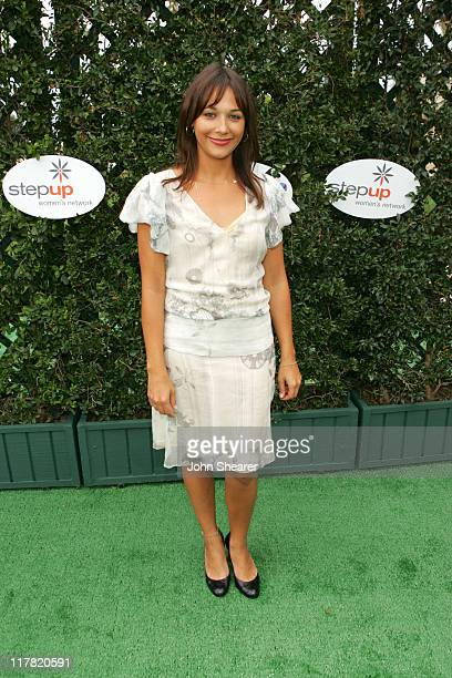 Rashida Jones during Disney's Alice in Wonderland Mad Tea Party at Private Residence in Los Angeles California United States
