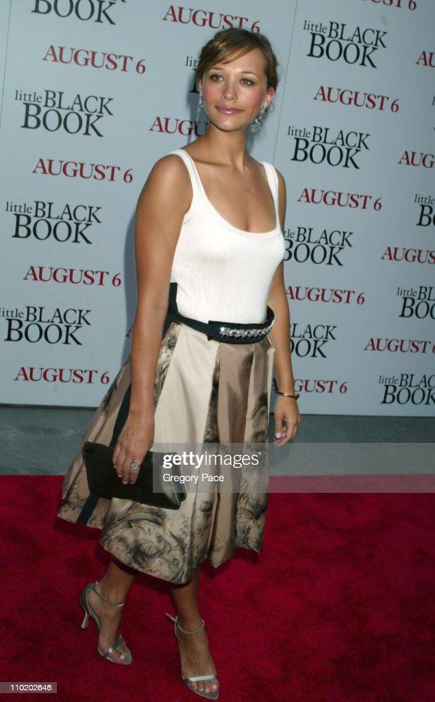 Rashida Jones during 'Little Black Book' New York Premiere Arrivals at Ziegfeld Theater in New York City New York United States