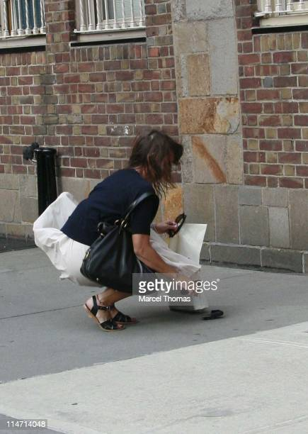 Rashida Jones during Rashida Jones Sighting in SOHO May 5 2007 in SOHO New York United States