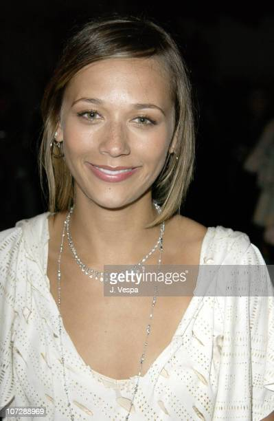 Rashida Jones during Women's Wear Daily The Ultimate Fashion Authority and Diamond Information Center Host 'Dazzling With Color and Dripping With...