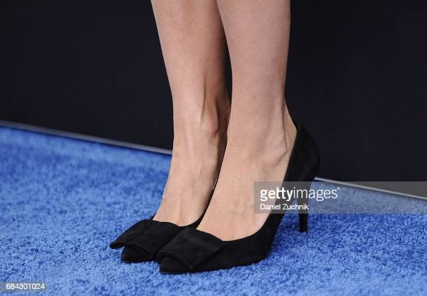 Rashida Jones heels detail attends the 2017 Turner Upfront at Madison Square Garden on May 17 2017 in New York City