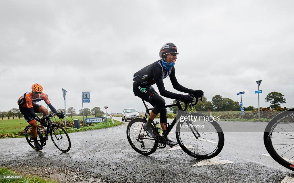 Rasmus Bogh Wallin of ColoQuick - CULT in action during stage two of Tour of Denmark PostNord Danmark Rundt 2017 from Svendborg to Odense on September 13, 2017 in Svendborg, Denmark.