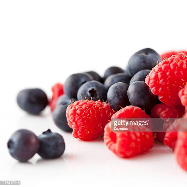 Raspberries & Blueberries