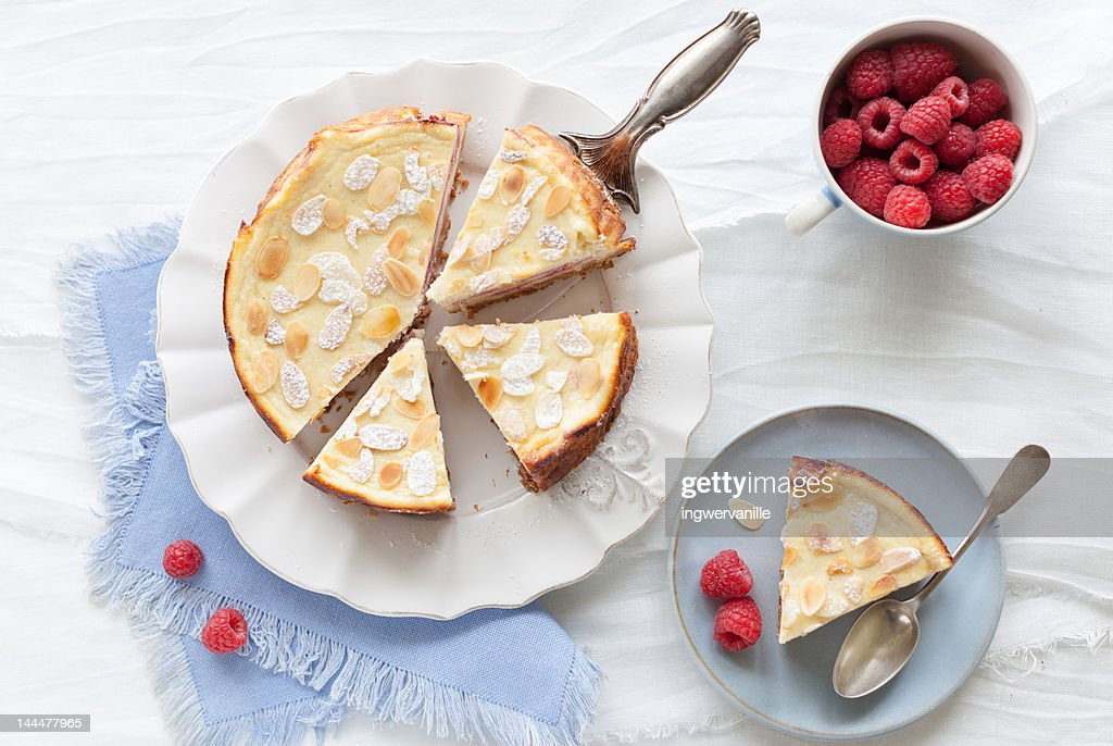Raspberry Cheesecake : Stock Photo