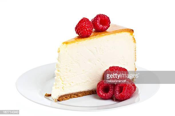 ラズベリーのチーズケーキ