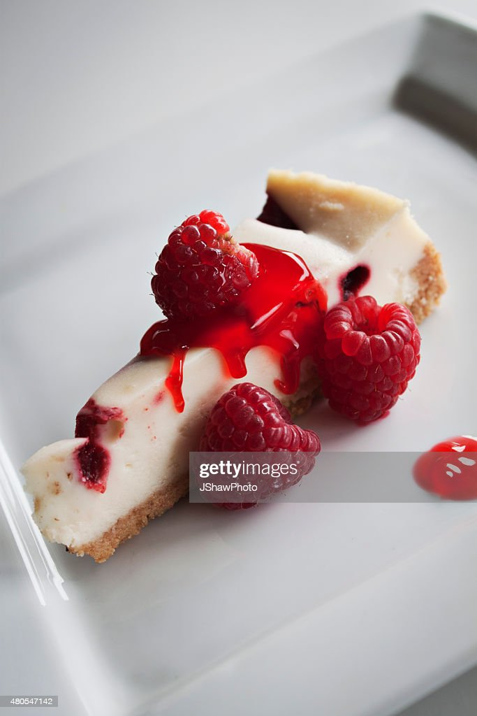 Raspberry Cheesecake : Stock Photo