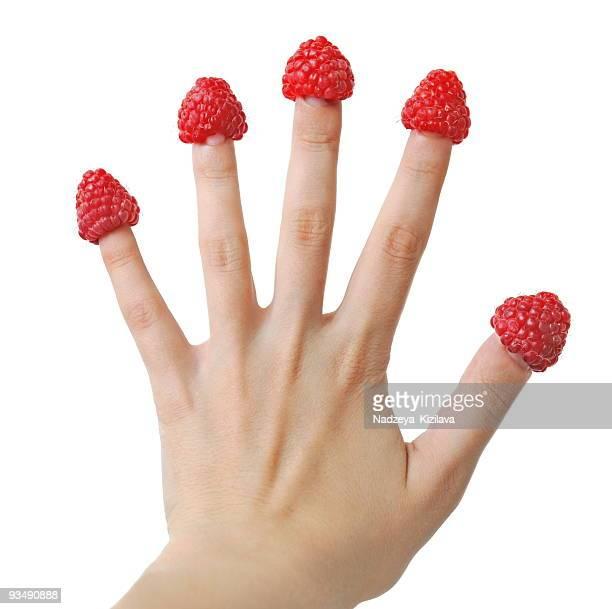 Raspberry fingers