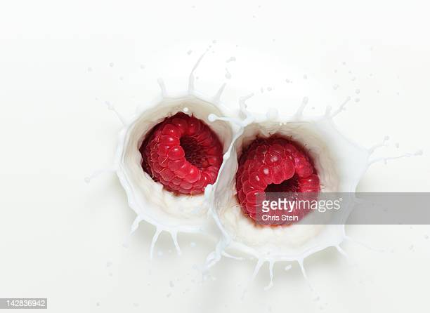 Raspberry Milk Splash