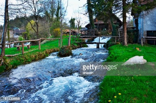 Rastoke Village (Korana River), Croatia : Stock Photo