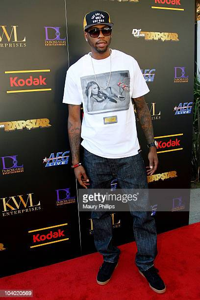 Rasual Butler arrives at the PreVMA Summer Soiree presented by Def Jam Rapstar and Kodak on September 11 2010 in Brentwood California