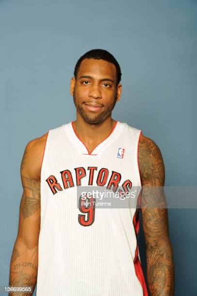 Rasual Butler of the Toronto Raptors poses for a portrait during an additional media day at the Air Canada Centre on January 10 2012 in Toronto...