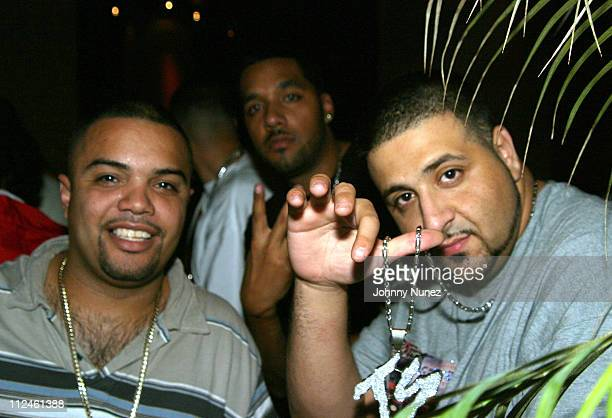 Rated R and DJ Khaled during Terror Squads Celebrates the Release of their New Album 'True Story' at Club Deep in New York City New York United States