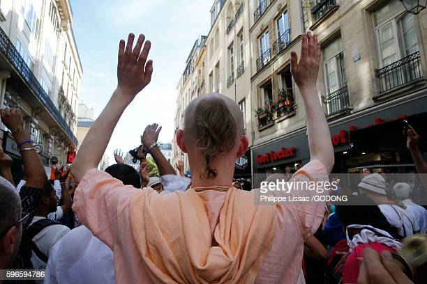 Ratha Yatra or Chariot Festival is a festival that involves moving deities Jagannath, Balabhadra, Subhadra and Sudarshana on a chariot. This yatra is organized by ISKCON in Paris.