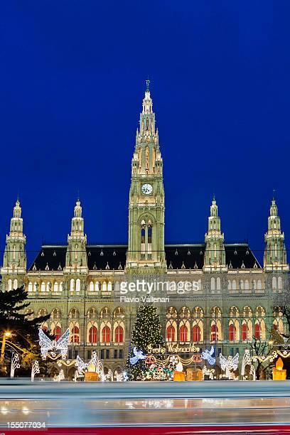Rathaus en Navidad, Vienna