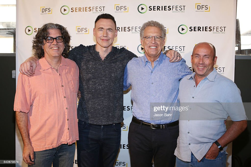 Ra'uf Glasgow, Kevin Durand, Carlton Cuse, and J. Miles Dale attend SeriesFest: Season Two at Sie FilmCenter on June 24, 2016 in Denver, Colorado.