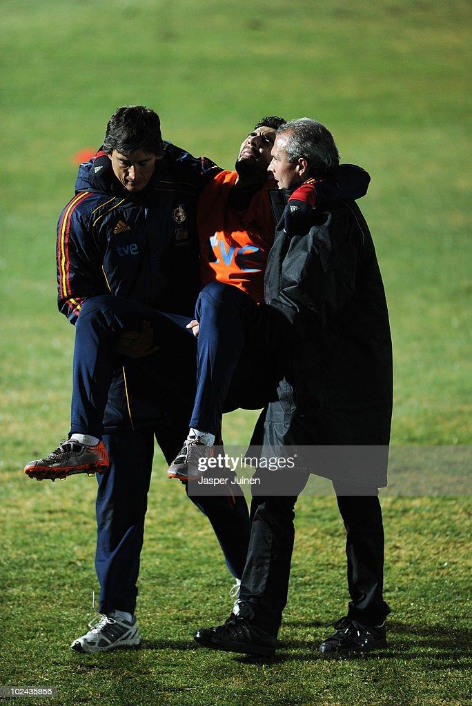 Spain Training Session
