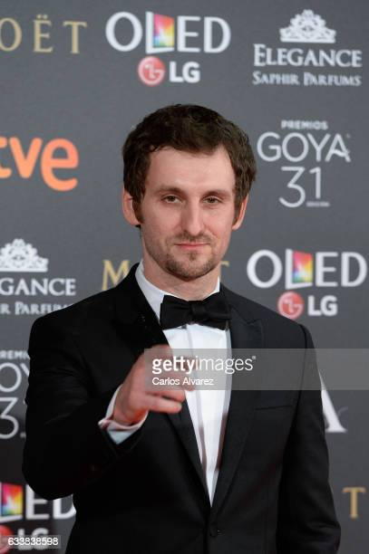 Raul Arevalo attends Goya Cinema Awards 2017 at Madrid Marriott Auditorium on February 4 2017 in Madrid Spain