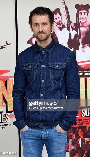 Raul Arevalo attends 'Murieron Por Encima De Sus Posibilidades' Madrid photocall on April 16 2015 in Madrid Spain