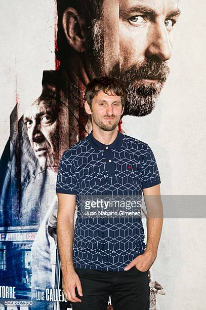 Raul Arevalo attends 'Tarde Para La Ira' photocall at Palafox Cinema on September 6 2016 in Madrid Spain