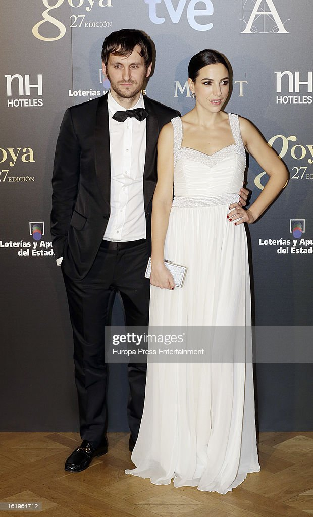 Raul Arevalo attends the official 'Goya Cinema Awards After Party' 2013 at Casino de Madrid on February 17, 2013 in Madrid, Spain.