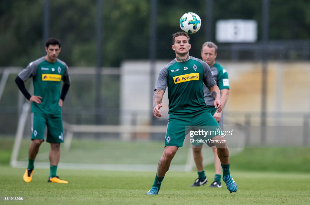Raul Bobadilla during the training session of Borussia Moenchengladbach at Borussia-Park on August 18, 2017 in Moenchengladbach, Germany.