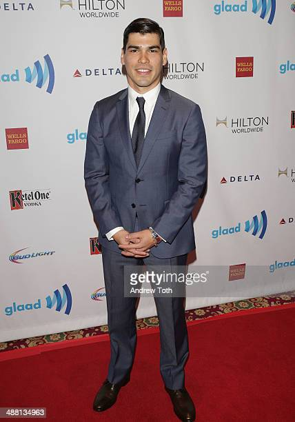 Raul Castillo attends 25th Annual GLAAD Media Awards at The Waldorf=Astoria on May 3 2014 in New York City