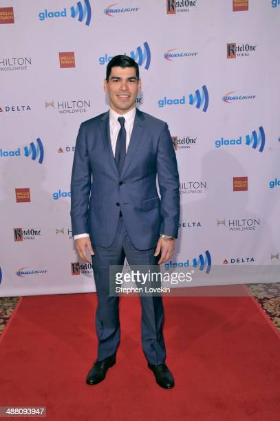 Raul Castillo attends the 25th Annual GLAAD Media Awards on May 3 2014 in New York City