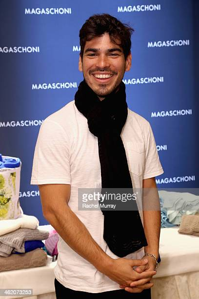 Raul Castillo attends the HBO Luxury Lounge featuring PANDORA Jewelry at Four Seasons Hotel Los Angeles at Beverly Hills on January 12 2014 in...