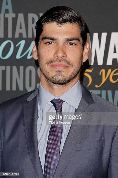 Raul Castillo attends the National Association of Latino Independent Producers gala awards at Sheraton Universal on June 7 2014 in Universal City...