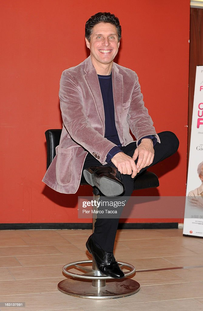 Raul Cremona attends a 'Ci vuole un gran fisico' photocall on March 5, 2013 in Milan, Italy.