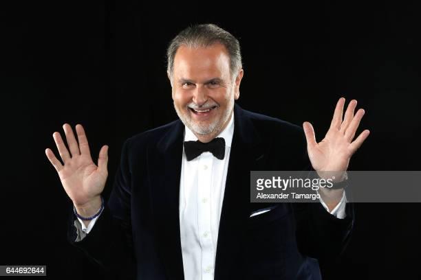 Raul De Molina attends Univision's 29th Edition of Premio Lo Nuestro A La Musica Latina at the American Airlines Arena on February 23 2017 in Miami...
