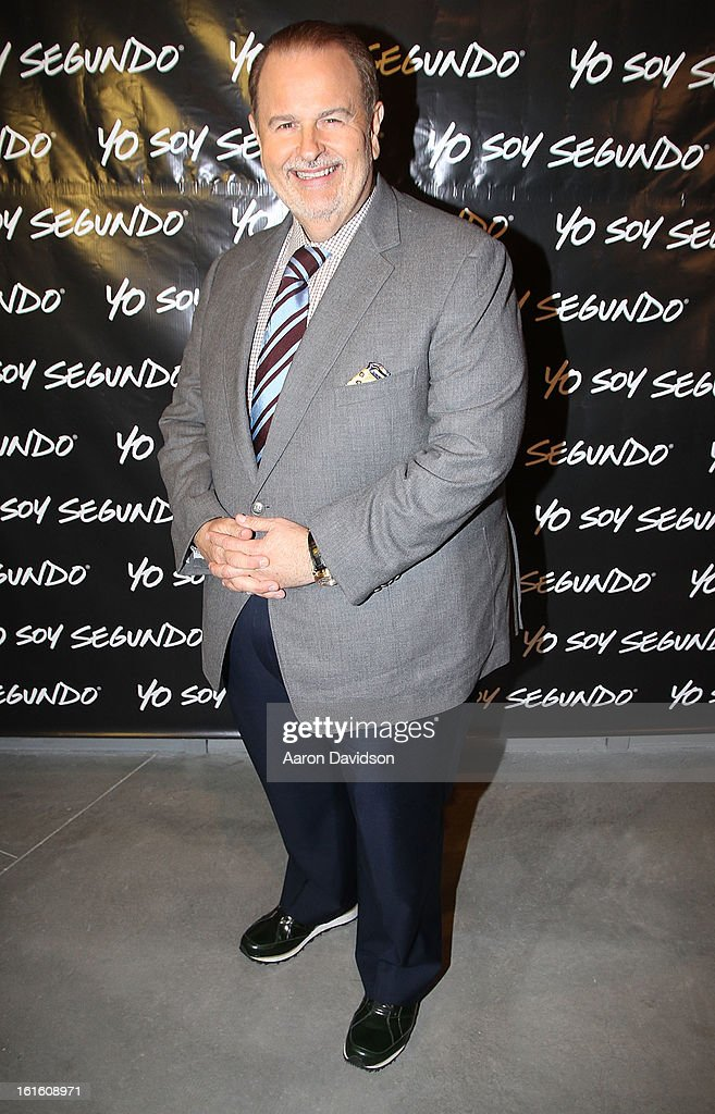 Raul De Molina attends Yo Soy Segundo With Myrka Dellanos at New World Center on February 12, 2013 in Miami Beach, Florida.