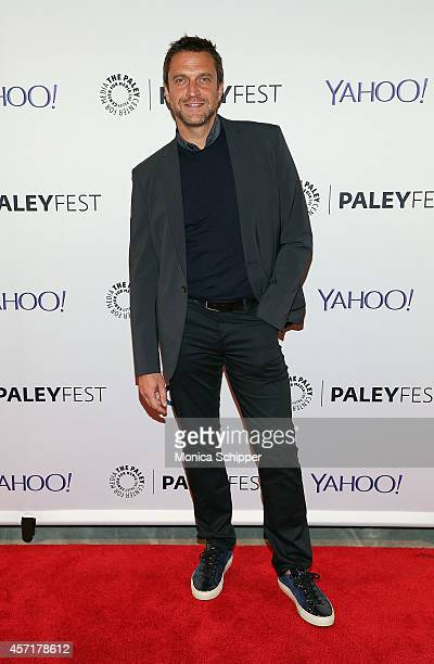 Raul Esparza attends 2nd Annual Paleyfest New York Presents 'Law Order SVU' at Paley Center For Media on October 13 2014 in New York New York