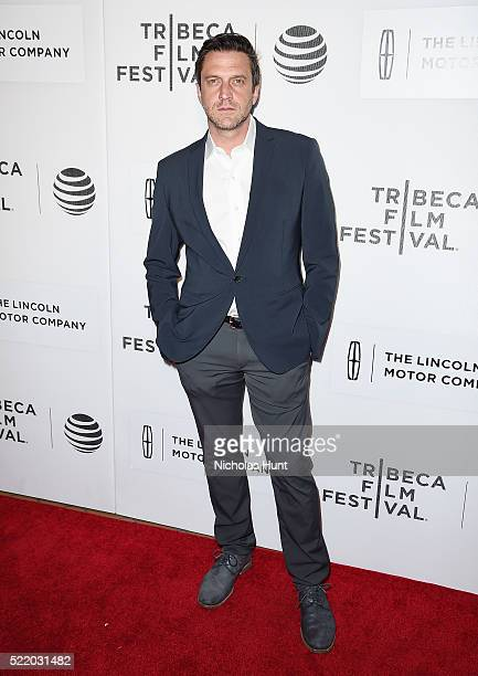 Raul Esparza attends 'Custody' Premiere 2016 Tribeca Film Festival at John Zuccotti Theater at BMCC Tribeca Performing Arts Center on April 17 2016...