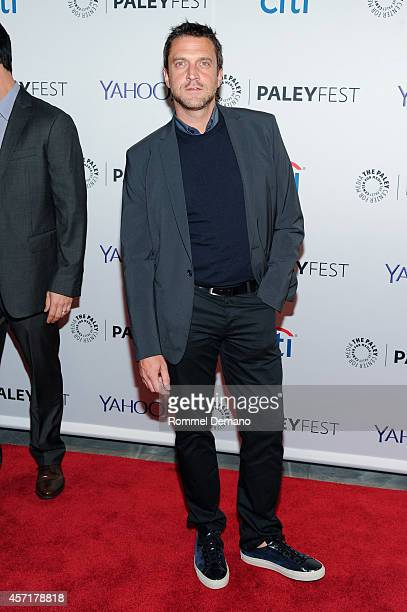 Raul Esparza attends the 2nd Annual Paleyfest New York Presents Law Order SVU' at Paley Center For Media on October 13 2014 in New York New York