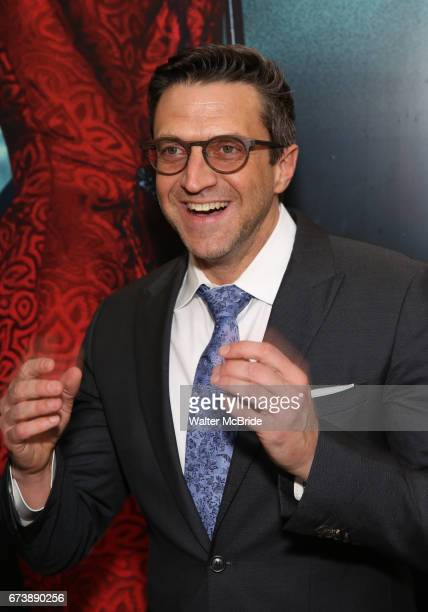 Raul Esparza attends the Broadway Opening Night performance of 'Bandstand' at the Bernard B Jacobs Theatre on 4/26/2017 in New York City