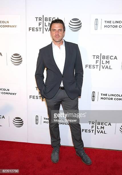 Raul Esparza attends the 'Custody' Premiere 2016 Tribeca Film Festival at BMCC John Zuccotti Theater on April 17 2016 in New York City